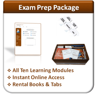 Exam Prep Package (with Rental Books)
